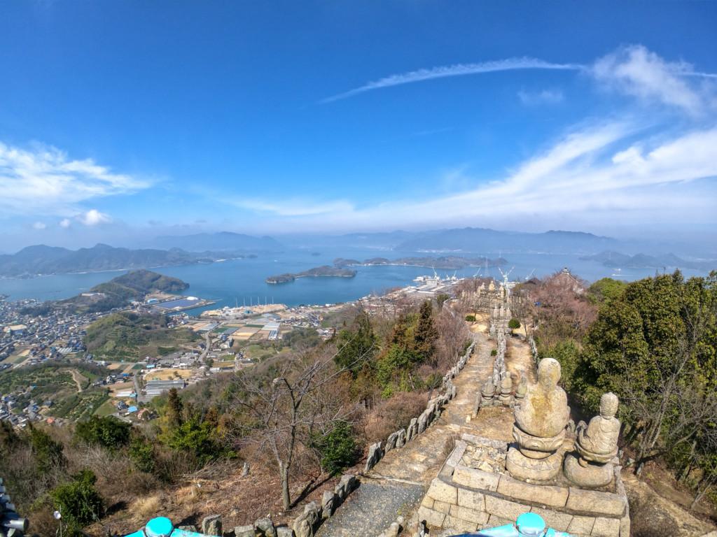 【ハイエース車中泊旅行】絶景を求めて因島・生口島へ!