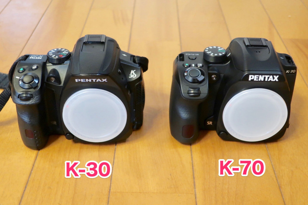 PENTAX K-30からK-70に買い替え