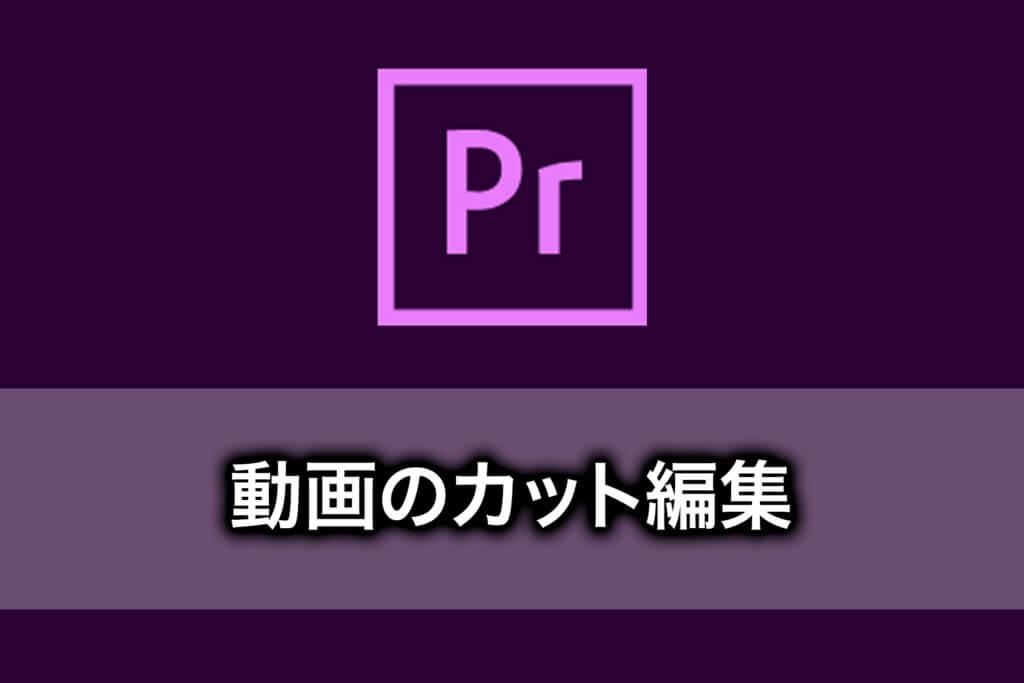 【PremiereProの使い方】動画のカットを編集する方法
