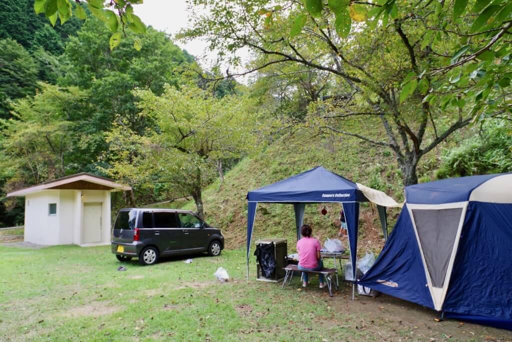 京都大呂ガーデンテラス オートキャンプ場に到着!
