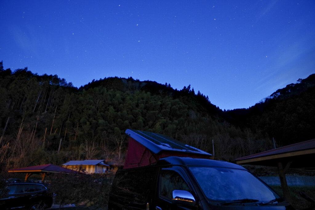 毛原オートキャンプ場で星空キャンプに行ってきました!