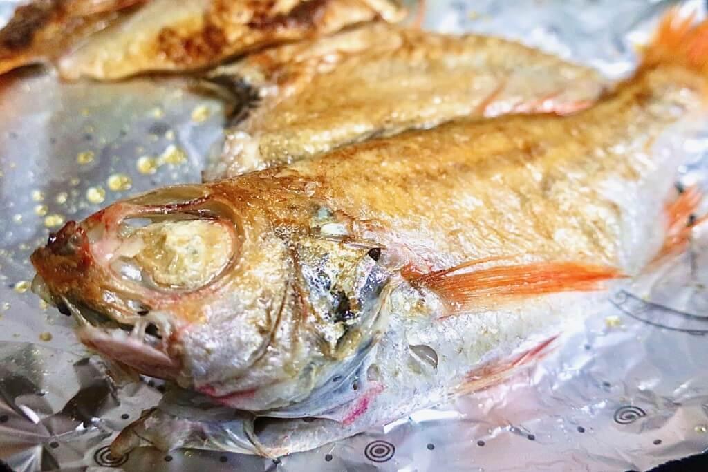 47clubで魚の干物を購入!ノドグロの干物を食べてみた!