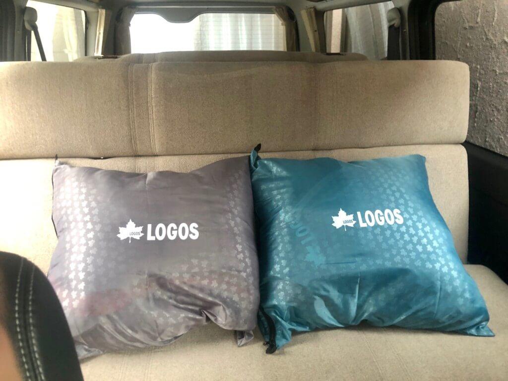 クッションになる寝袋が便利!-3