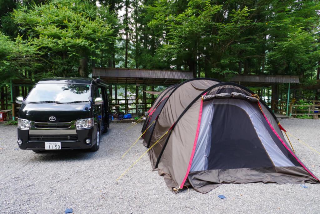 【きなりの郷キャンプ場】夏の家族キャンプ!