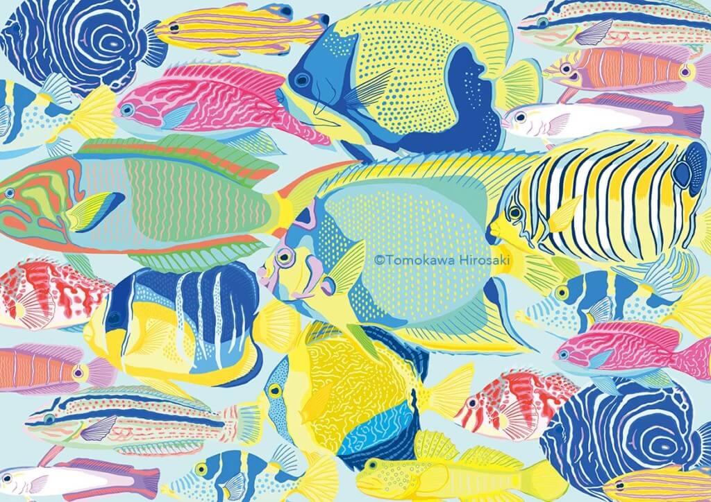 【デジタルイラスト】クリスタで描いた魚の絵の制作工程を解説
