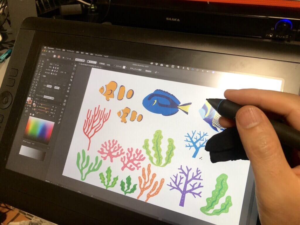 お魚キャニスターのデザイン制作行程-2